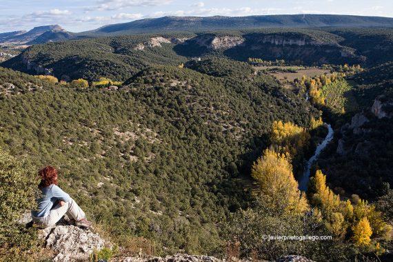 Riberas del Arlanza junto al Monasterio de San Pedro de Arlanza. Burgos. Castilla y León. España. © Javier Prieto Gallego