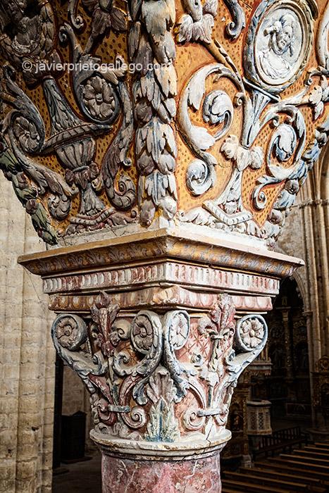 Iglesia de San Hipólito. Localidad de Támara. Comarca de Tierra de Campos. Camino de Santiago. Palencia. Castilla y León. España. © Javier Prieto Gallego