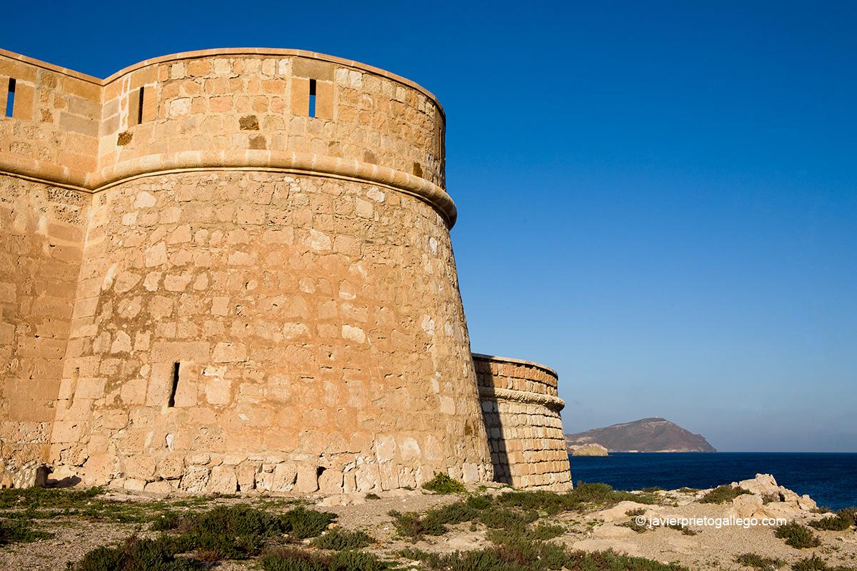 Batería de San Felipe. Cabo de Gata. Almería. Andalucía. España.© Javier Prieto Gallego