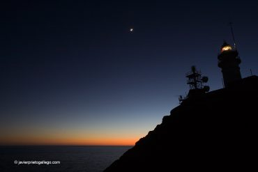 Faro del Cabo de Gata. Parque Natural del Cabo de Gata. Anochecer. Almería. Andalucía. España.© Javier Prieto Gallego