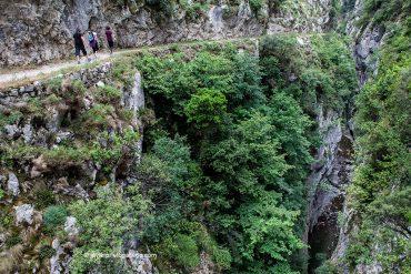 Desfiladero del Cares. Localidad de Caín. Parque Nacional de los Picos de Europa. León. Castilla y León. España. © Javier Prieto Gallego