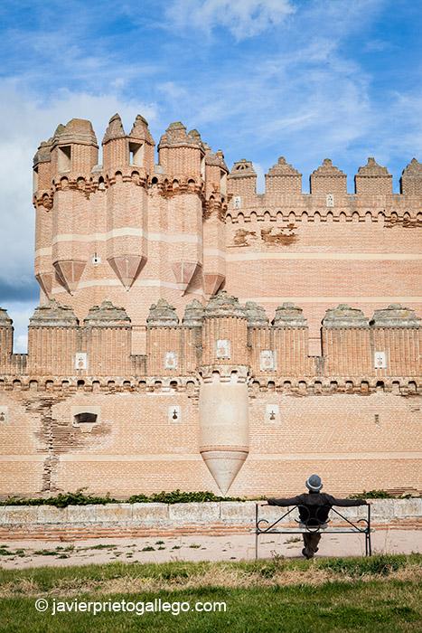 Castillo mudéjar de Coca. Segovia. Castilla y León. España. © Javier Prieto Gallego