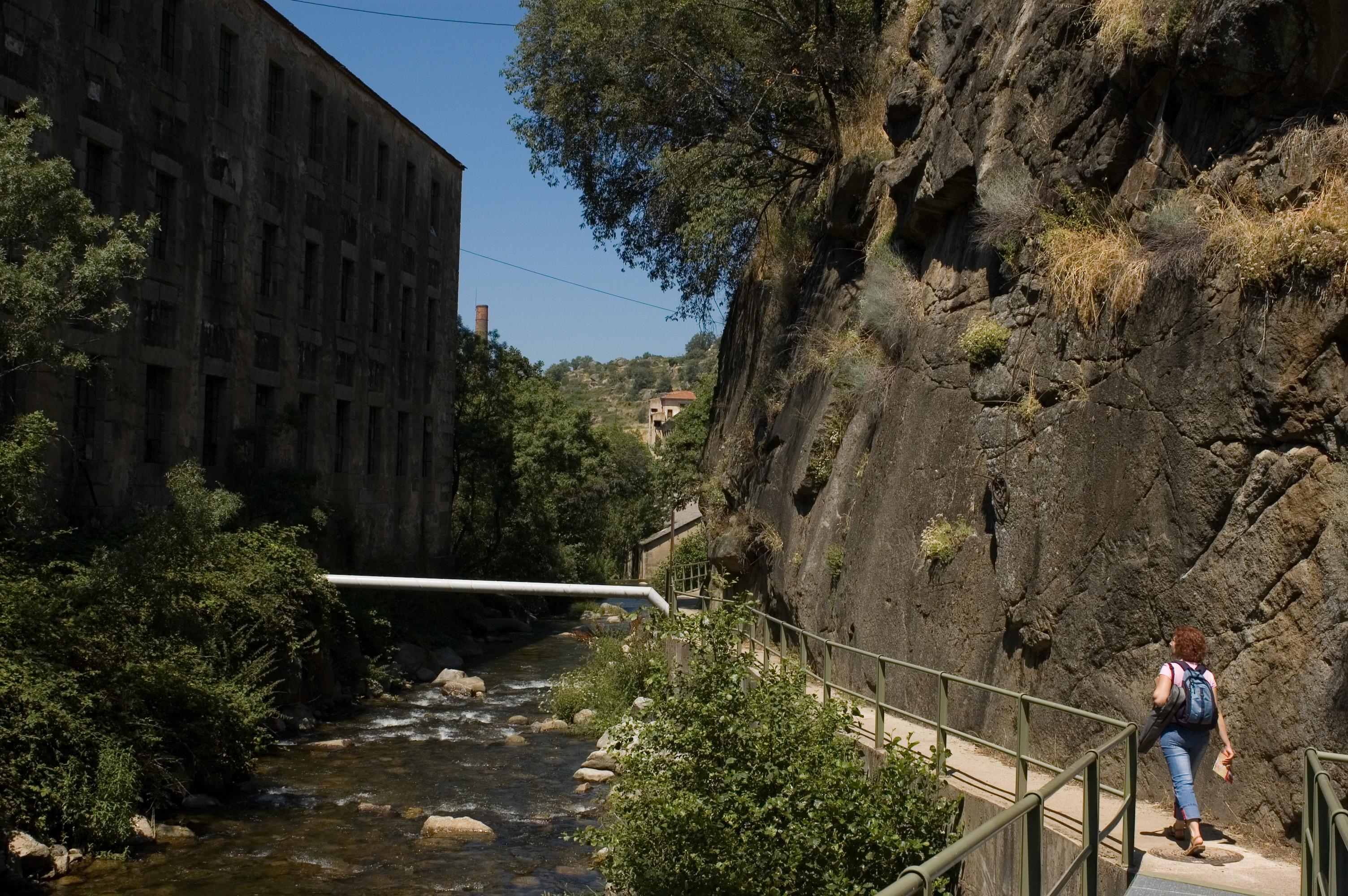 Ruta de las fábricas textiles. Béjar. Salamanca. Castilla y León. España © Javier Prieto Gallego;