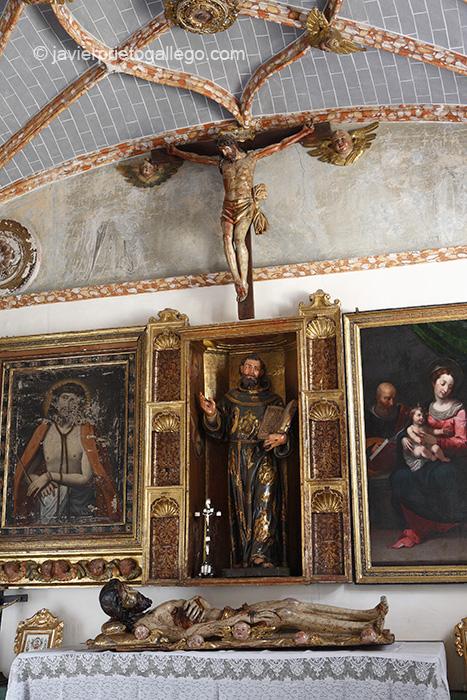 Capilla de San Francisco. Monasterio de Santa Isabel. Valladolid. Castilla y León. España © Javier Prieto Gallego
