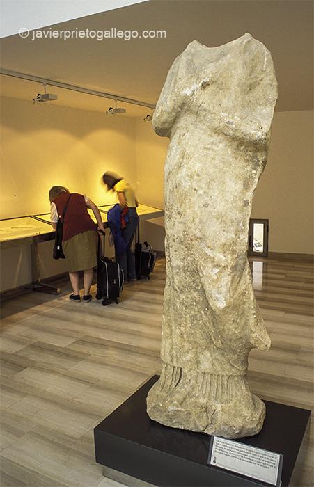 Museo Romano de Astorga. Vía de la Plata. León. Castilla y León. España.© Javier Prieto Gallego