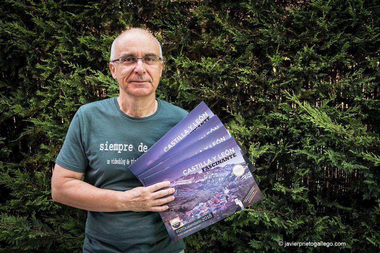 """Javier Prieto Gallego. Autor del fotocalendario """"Castilla y León es fascinante. 2018"""", financiado mediante una campaña de micromecenazgo. Valladolid. Castilla y León. España © Javier Prieto Gallego;"""