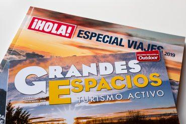 Especial ¡Hola! viajes 2019 y revista Grandes Espacios