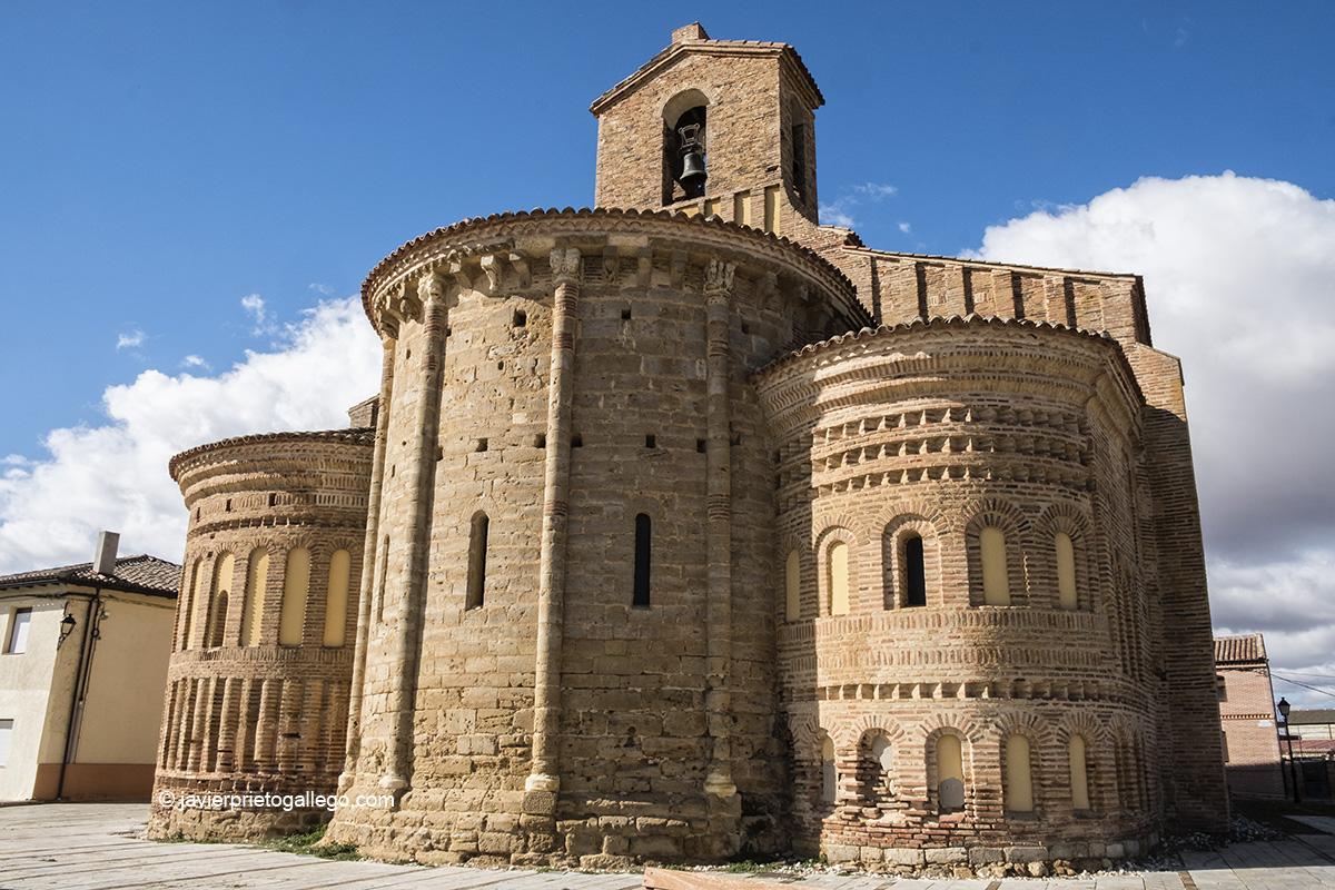 Iglesia de los Santos Gervasio y Protasio. Santervás de Campos. Provincia de Valladolid. Castilla y León. España © Javier Prieto Gallego