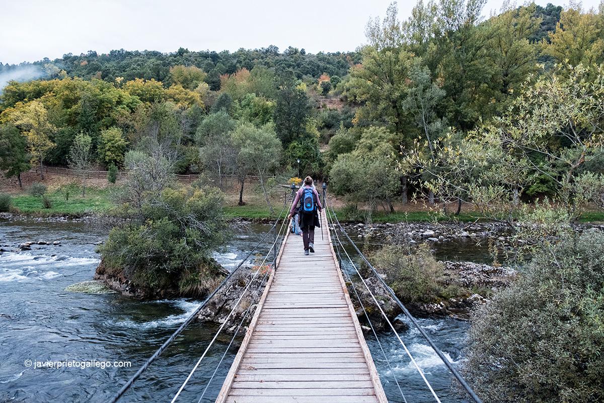Río Esla. Ruta de las Minas. Sabero. León. Castilla y León. España © Javier Prieto Gallego