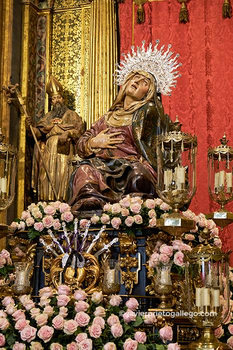 Nuestra Señora de las Angustias (Juan de Juni, posterior a 1561). Iglesia de Las Angustia. Valladolid. Castilla y León. España. © Javier Prieto Gallego